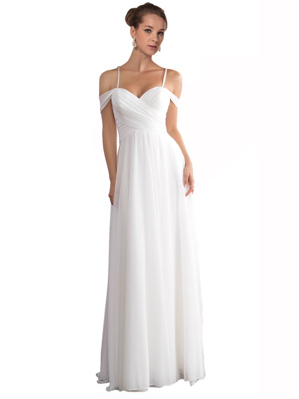 Ivory Sweep Train Long Off the Shoulder Ruth Wedding Dress Perth